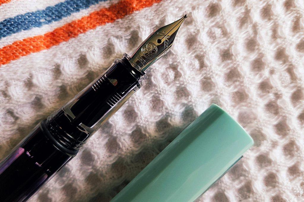 TWSBI ECO-T in mint blue