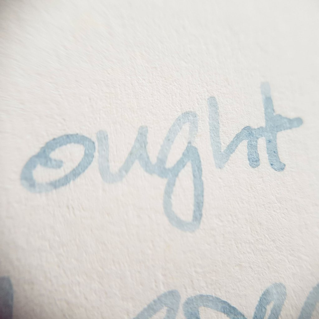 Writing sample of Taccia Grey Jeans ink on Leuchtturm1917 planner