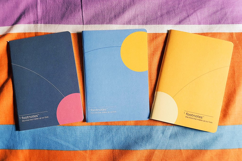 footnotes notebooks from Labrador Publishing House